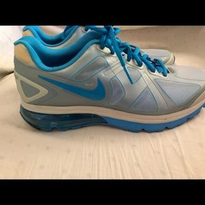 Nike AirMax Fitsole Excellerate Blue Gray size 9